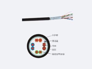 超五類4對屏蔽室外線纜